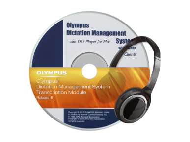 ODMS ‑ Module de Transcription , Olympus, Transcription Software